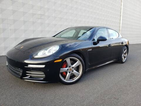2014 Porsche Panamera for sale at Positive Auto Sales, LLC in Hasbrouck Heights NJ
