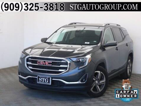 2020 GMC Terrain for sale at STG Auto Group in Montclair CA