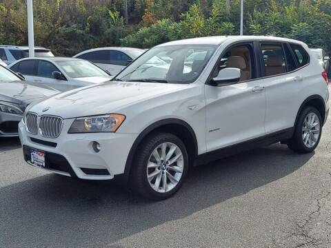 2014 BMW X3 for sale at Automall Collection in Peabody MA