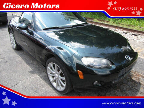 2008 Mazda MX-5 Miata for sale at Cicero Motors in Cicero IN