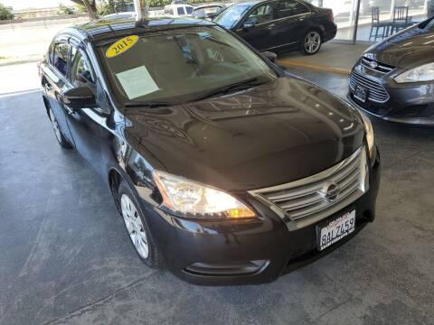 2015 Nissan Sentra for sale at Sac River Auto in Davis CA