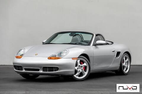 2001 Porsche Boxster for sale at Nuvo Trade in Newport Beach CA