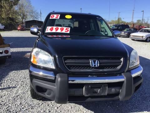 2003 Honda Pilot for sale at K & E Auto Sales in Ardmore AL