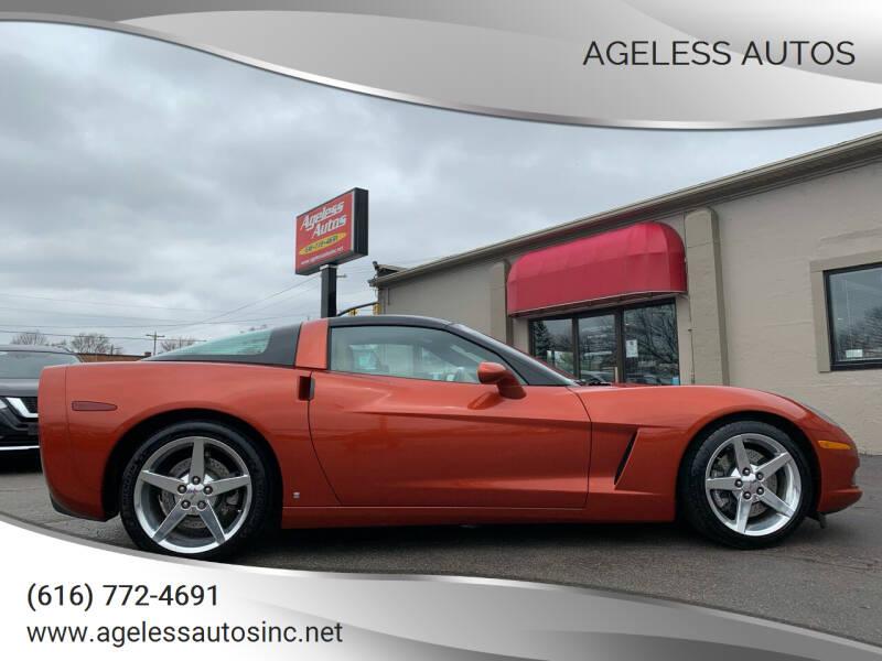 2006 Chevrolet Corvette for sale at Ageless Autos in Zeeland MI