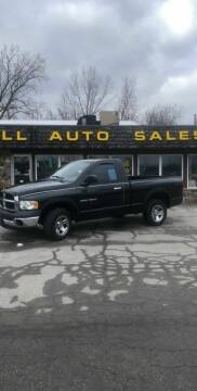 2004 Dodge Ram Pickup 1500 for sale at BELL AUTO & TRUCK SALES in Fort Wayne IN