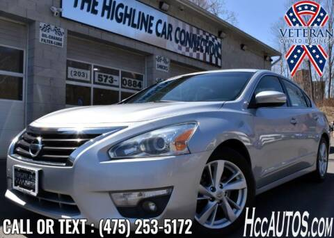 2015 Nissan Altima for sale at The Highline Car Connection in Waterbury CT
