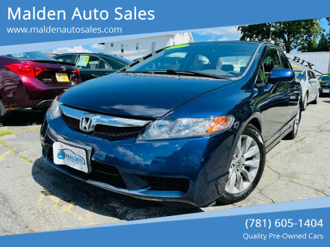 2009 Honda Civic for sale at Malden Auto Sales in Malden MA