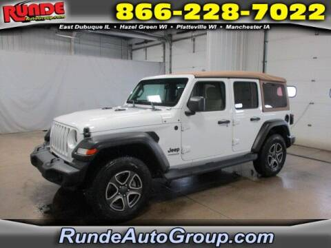 2020 Jeep Wrangler Unlimited for sale at Runde Chevrolet in East Dubuque IL