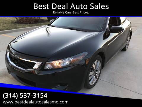 2009 Honda Accord for sale at Best Deal Auto Sales in Saint Charles MO