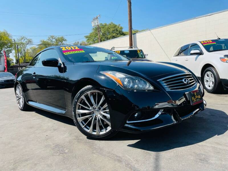 2012 Infiniti G37 Convertible for sale at Alpha AutoSports in Roseville CA