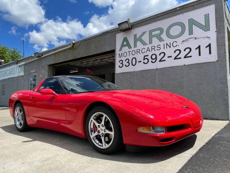 1998 Chevrolet Corvette for sale at Akron Motorcars Inc. in Akron OH