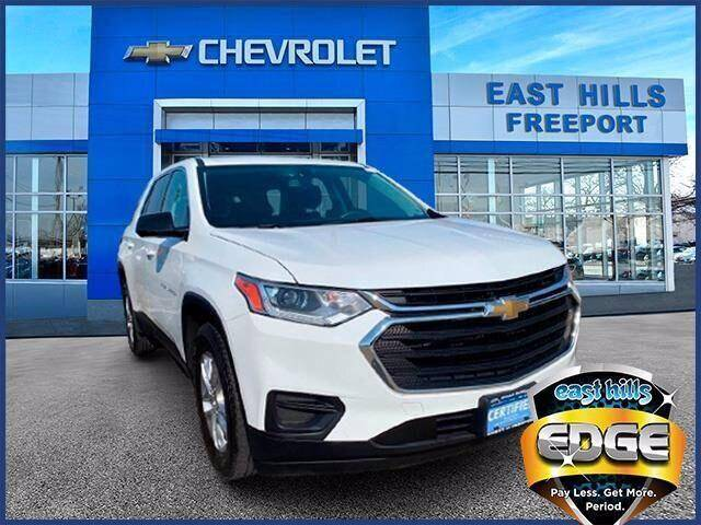 2018 Chevrolet Traverse for sale in Freeport, NY