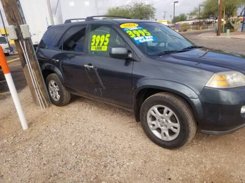 2004 Acura MDX for sale at CAMEL MOTORS in Tucson AZ