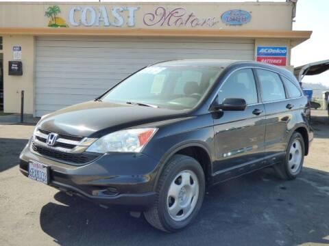 2011 Honda CR-V for sale at Coast Motors in Arroyo Grande CA