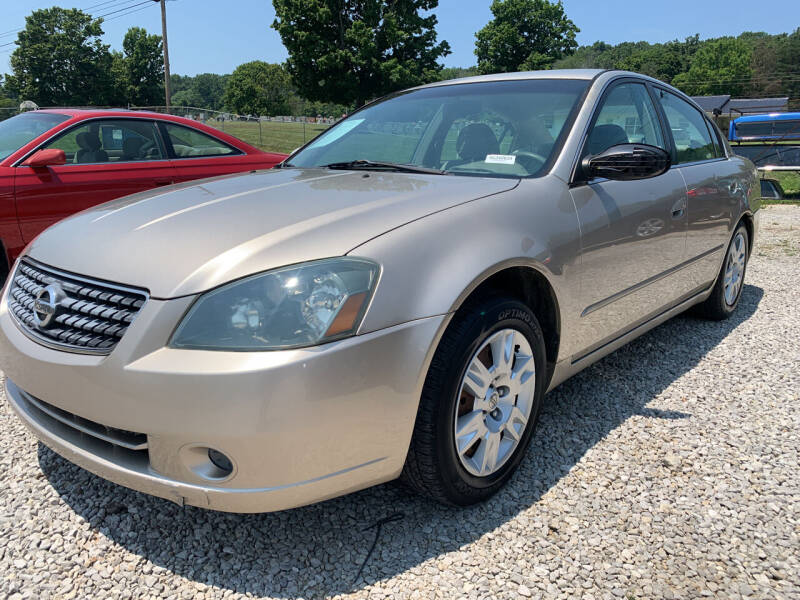 2005 Nissan Altima for sale at Gary Sears Motors in Somerset KY