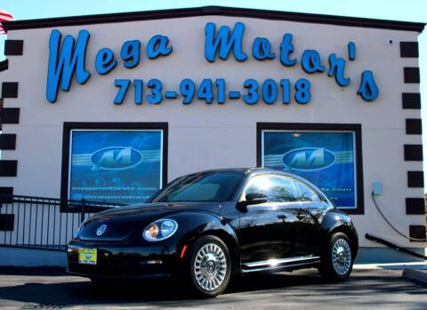 2013 Volkswagen Beetle for sale at MEGA MOTORS in South Houston TX