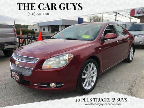 2008 Chevrolet Malibu for sale at The Car Guys in Hyannis MA