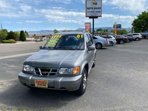 2001 Kia Sportage for sale at TDI AUTO SALES in Boise ID