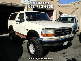 1995 Ford Bronco for sale at M J Traders Ltd. in Garfield NJ