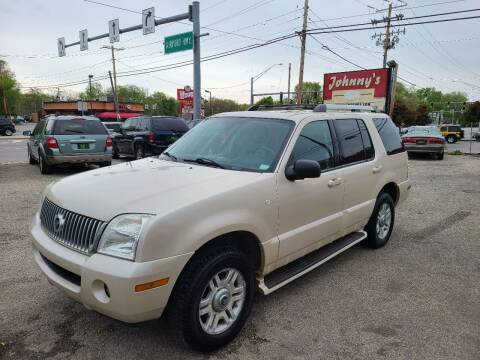 2005 Mercury Mountaineer for sale at Johnny's Motor Cars in Toledo OH