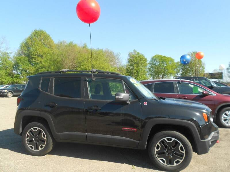 2017 Jeep Renegade for sale at Mark's Sales and Service in Schoolcraft MI