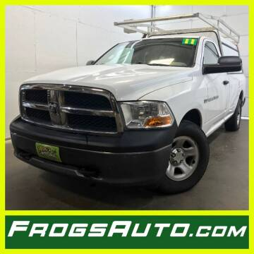 2011 RAM Ram Pickup 1500 for sale at Frogs Auto Sales in Clinton IA