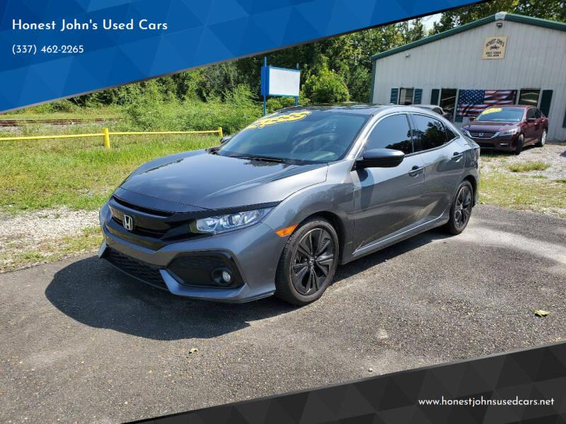 2019 Honda Civic for sale at Honest John's Used Cars in Deridder LA