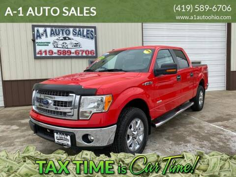 2014 Ford F-150 for sale at A-1 AUTO SALES in Mansfield OH