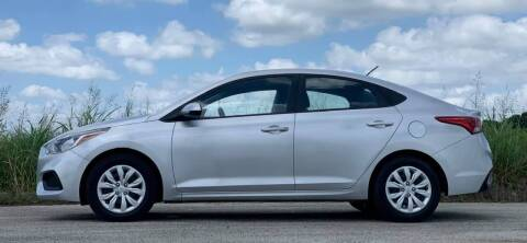 2020 Hyundai Accent for sale at Palmer Auto Sales in Rosenberg TX