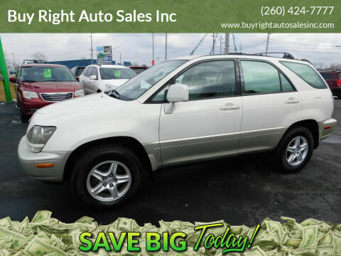 1999 Lexus RX 300 for sale at Buy Right Auto Sales Inc in Fort Wayne IN