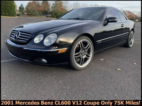 2001 Mercedes-Benz CL-Class for sale at Classic Car Deals in Cadillac MI
