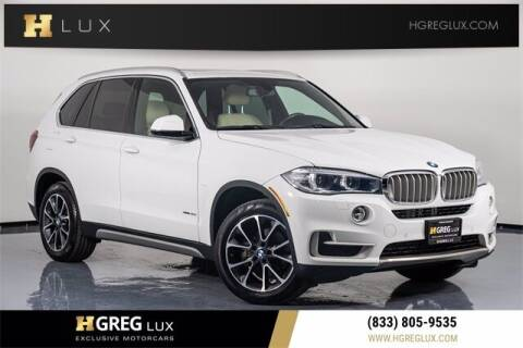 2017 BMW X5 for sale at HGREG LUX EXCLUSIVE MOTORCARS in Pompano Beach FL