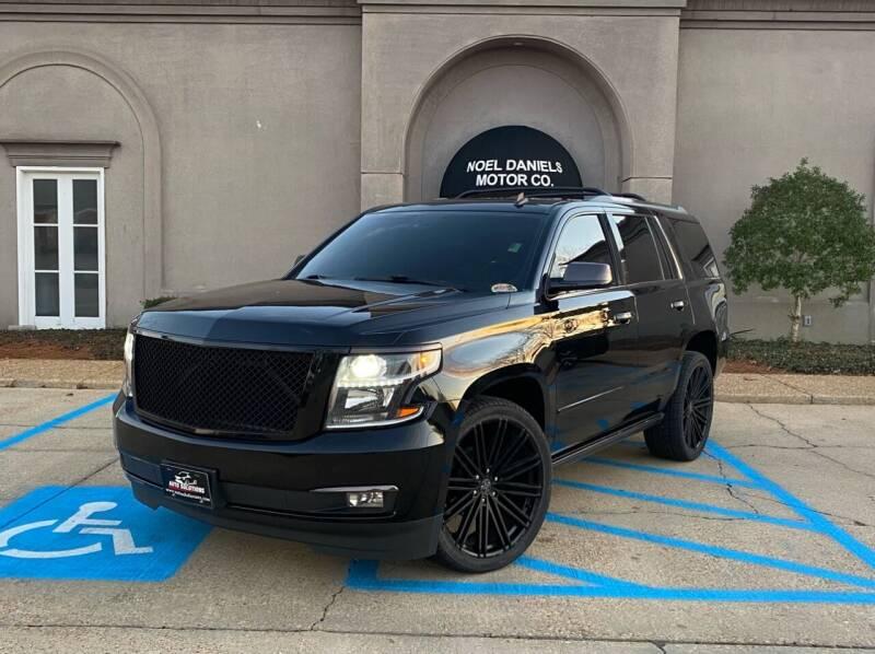 2015 Chevrolet Tahoe for sale at Noel Daniels Motor Company in Brandon MS