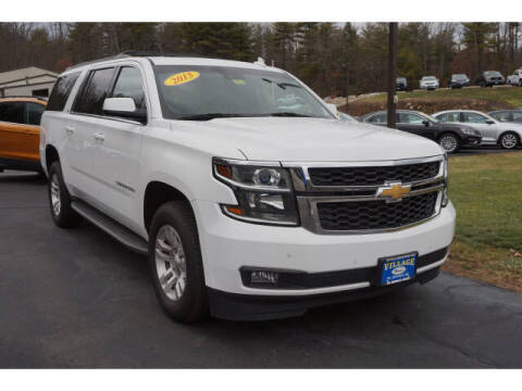 2015 Chevrolet Suburban for sale at VILLAGE MOTORS in South Berwick ME