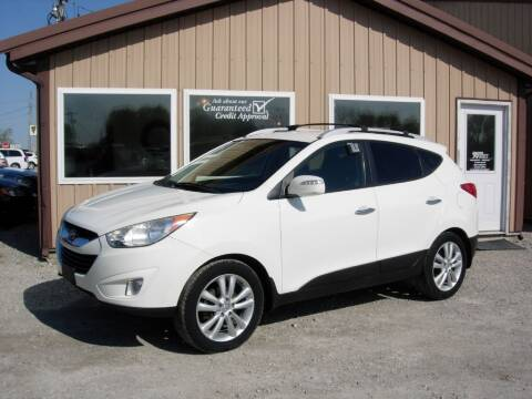 2012 Hyundai Tucson for sale at Greg Vallett Auto Sales in Steeleville IL