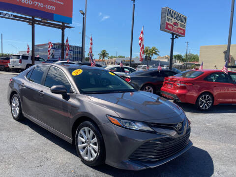 2019 Toyota Camry for sale at MACHADO AUTO SALES in Miami FL