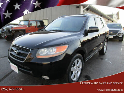 2007 Hyundai Santa Fe for sale at Lifetime Auto Sales and Service in West Bend WI