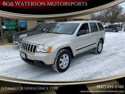 2008 Jeep Grand Cherokee for sale at Bob Waterson Motorsports in South Elgin IL