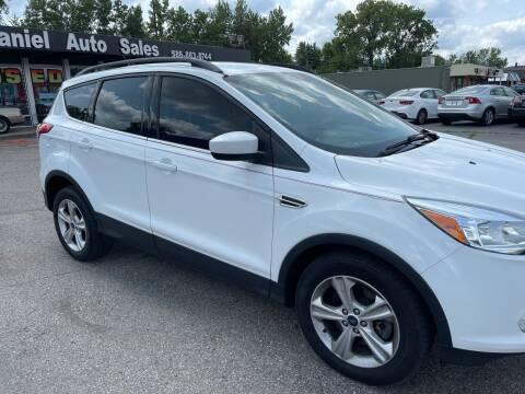 2015 Ford Escape for sale at Daniel Auto Sales inc in Clinton Township MI