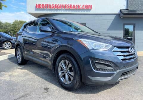 2014 Hyundai Santa Fe Sport for sale at Heritage Automotive Sales in Columbus in Columbus IN