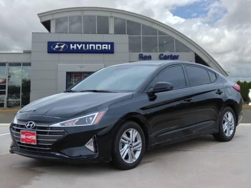 2020 Hyundai Elantra for sale in Houston, TX