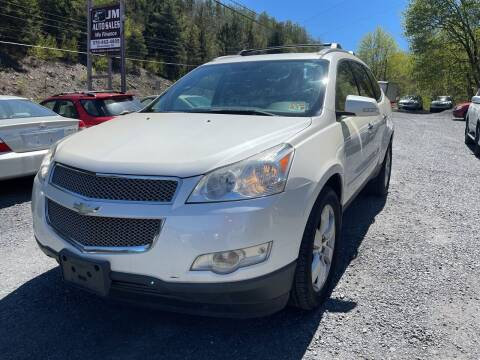 2011 Chevrolet Traverse for sale at JM Auto Sales in Shenandoah PA