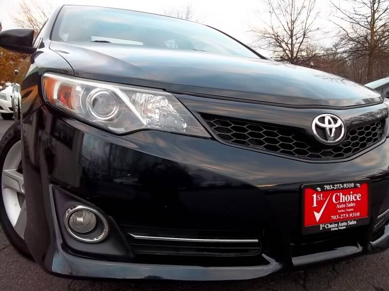 2014 Toyota Camry for sale at 1st Choice Auto Sales in Fairfax VA