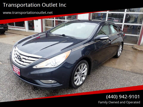 2011 Hyundai Sonata for sale at Transportation Outlet Inc in Eastlake OH
