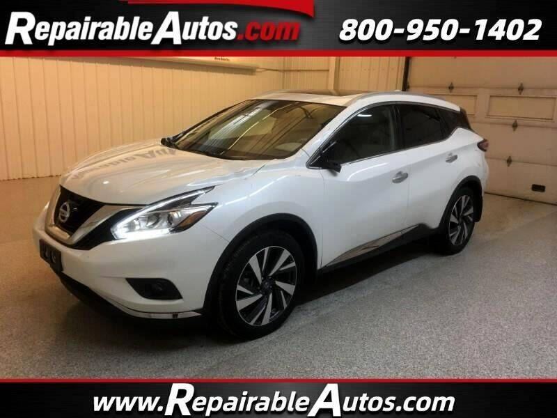 2017 Nissan Murano for sale at Ken's Auto in Strasburg ND