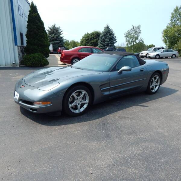 2004 Chevrolet Corvette for sale at TIM'S ALIGNMENT & AUTO SVC in Fond Du Lac WI