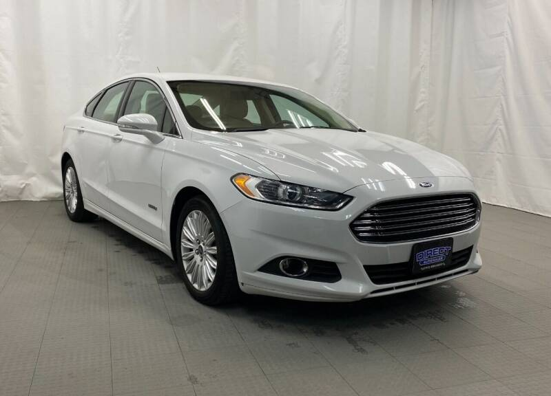 2015 Ford Fusion Energi for sale at Direct Auto Sales in Philadelphia PA