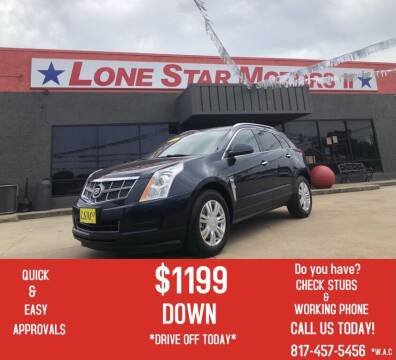 2011 Cadillac SRX for sale at LONE STAR MOTORS II in Fort Worth TX
