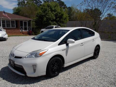 2013 Toyota Prius for sale at Carolina Auto Connection & Motorsports in Spartanburg SC