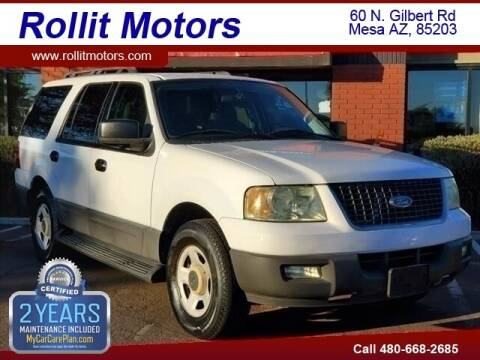 2005 Ford Expedition for sale at Rollit Motors in Mesa AZ